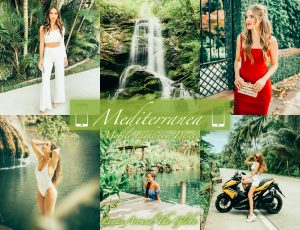 lightroom mobile preset presets instagram feed filter mediterranea